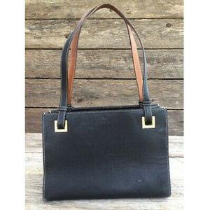 Kate Spade New York Black Square Satchel Handbag